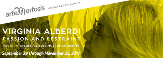 Virginia Alberdi – PASSION AND RESTRAINT – Works by: Adislen Reyes and Lancelot Alonso