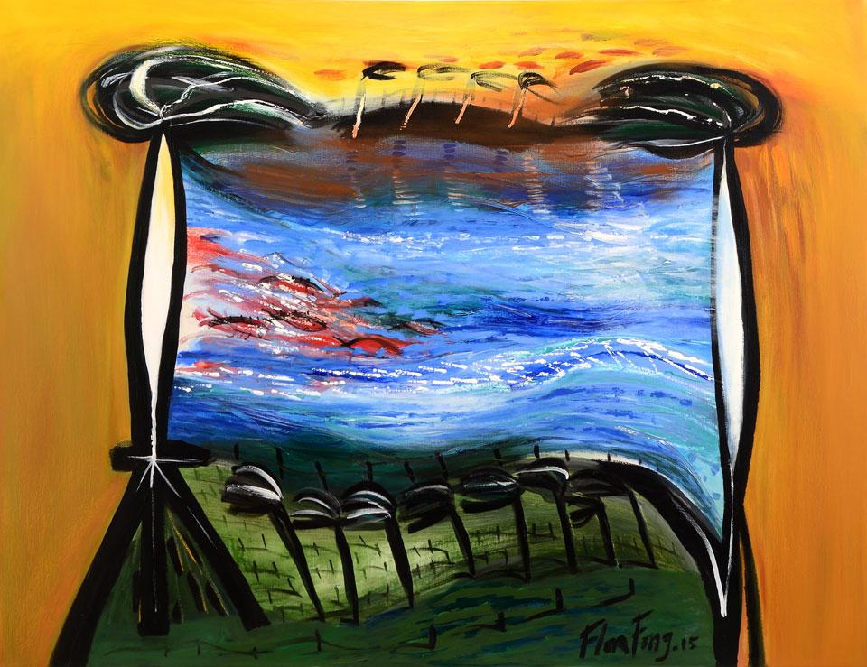 De la Serie Contra viento y marea by Flora Fong