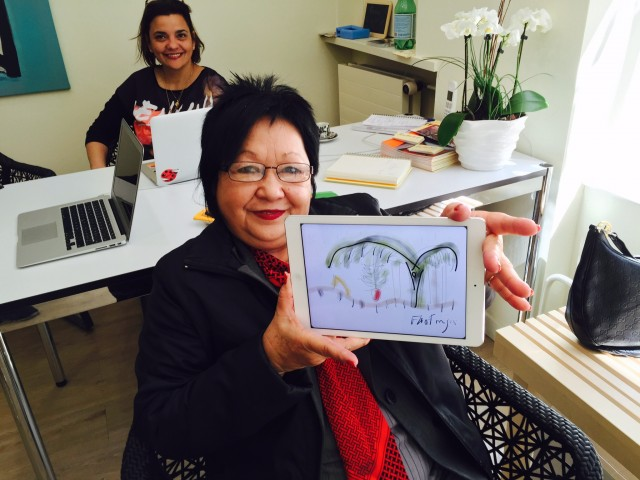 Impressions of Flora Fong's visit in Switzerland
