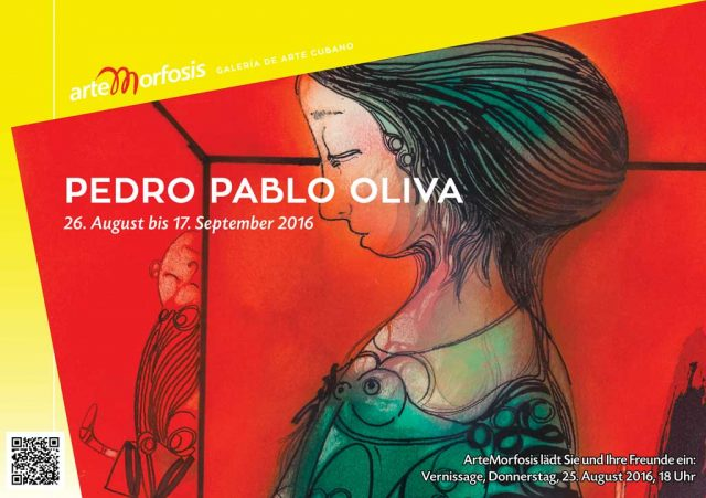 Save the Date: Pedro Pablo Oliva