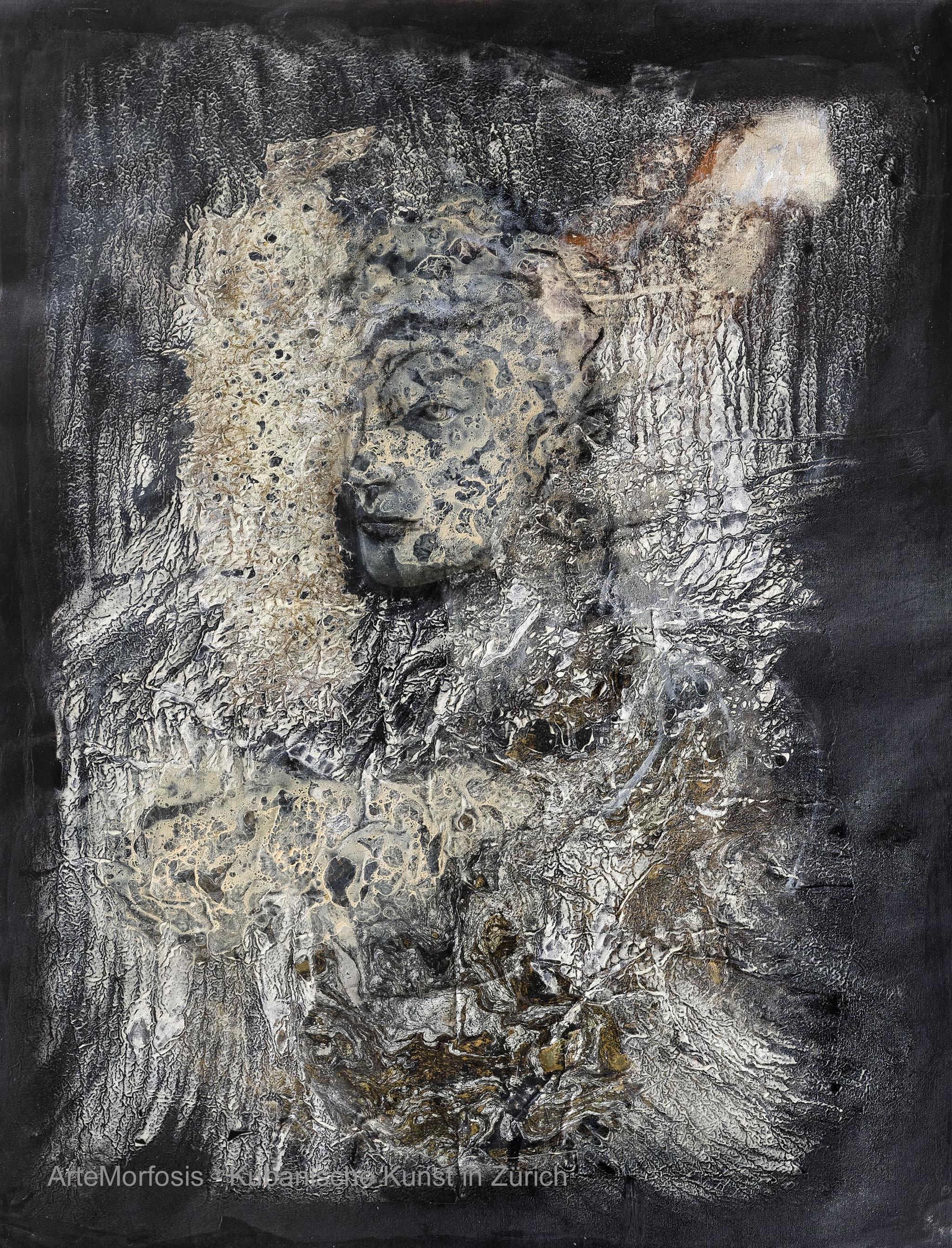 Li D Fong: Composición / Composition - Mixed on Canvas - 2016 - 117 x 91 cm
