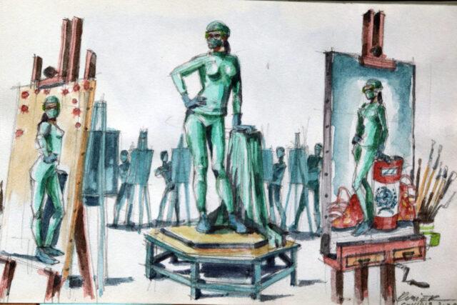 Duvier Del Dago (*1976, Villa clara, Cuba)
