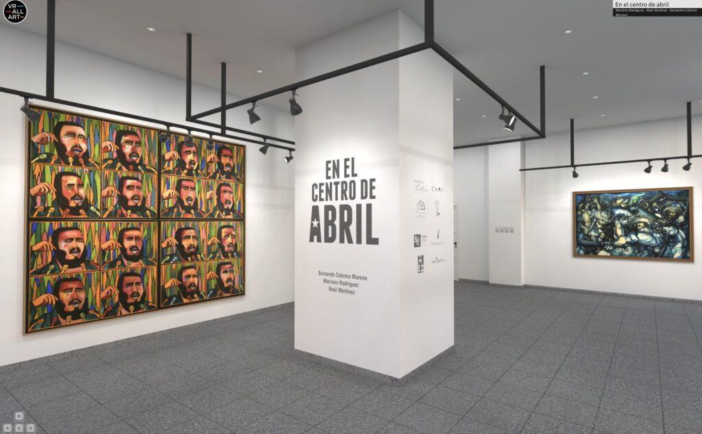 IEn el centro de Abril - exhibición en realidad virtual