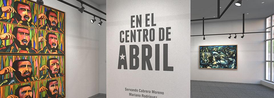 En el centro de abril